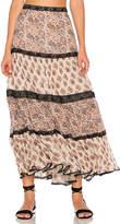 Carolina K. Lulu Skirt in Beige. - size L (also in M,S,XS)