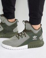 adidas Tubular X Sneakers In Night Cargo BA7781