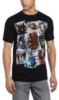 Marvel Men's Scatter Up T-Shirt