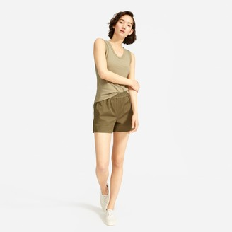 Everlane The Cotton Scoop-Neck Muscle Tank