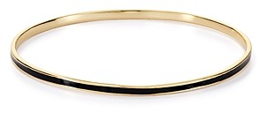 Argentovivo Enamel Bangle Bracelet in 18K Gold-Plated Sterling Silver