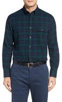 Nordstrom Men's Big & Tall Tartan Plaid Flannel Shirt