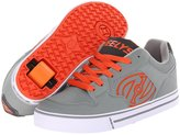 Heelys Motion Skate Shoe, Gray/Orange, Men's US Size 8