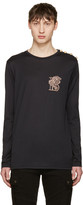 Balmain Black Lion T-shirt