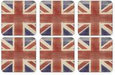 Pimpernel Union Jack Flag Coasters (Set of 6)