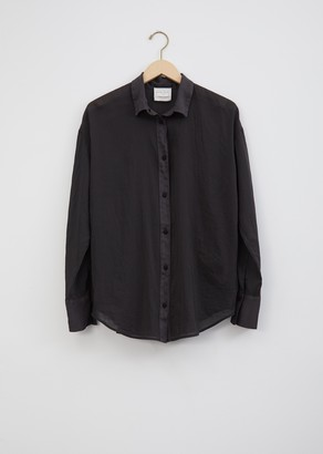 Forte Forte Cotton & Silk Crochet Buttons Shirt