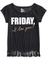 Epic Threads Friday Fringe T-Shirt, Big Girls, Created for Macy's