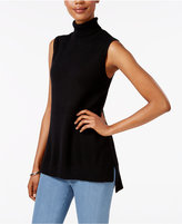 Charter Club Cashmere Sleeveless Turtleneck Sweater, Only at Macy's