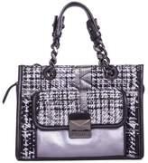 Karl Lagerfeld K/kuilted Tweed Handbag