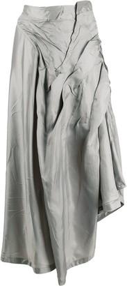 Ottolinger Asymmetric Crinkled Skirt