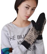 ABC Gloves, Women's Gloves, Women's Autumn Winter Knitted Gloves Cartoon Hedgehog Mittens