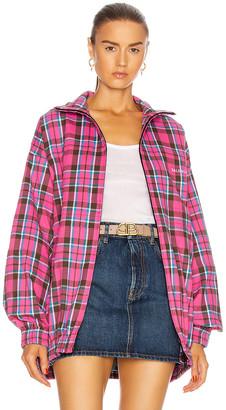 Balenciaga Zip Up Jacket in Pink | FWRD