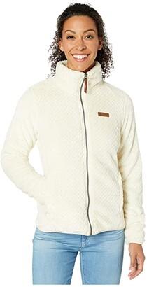 Columbia Fire Sidetm II Sherpa Full Zip (Chalk) Women's Coat