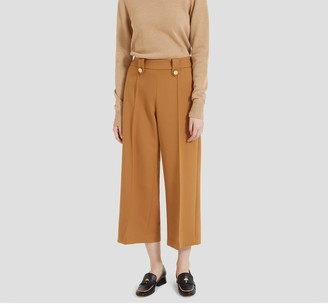 Mulberry Patricia Trousers Camel Cavalry Twill