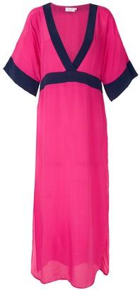 BRIGITTE Silk Midi Dress