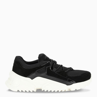 Salvatore Ferragamo Black chunky sneakers
