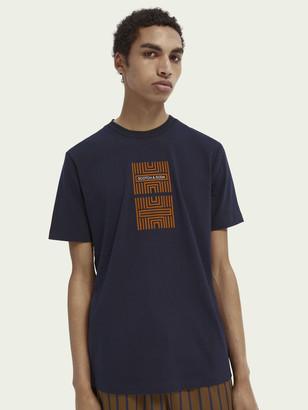 Scotch & Soda Short-sleeved print T-shirt | Men