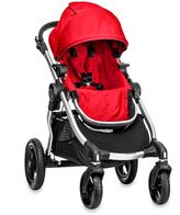 Baby Jogger city select® Single Stroller in Ruby/Silver