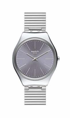 Swatch Women's Swiss Quartz Watch with Stainless Steel Strap