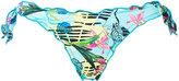 Ermanno Scervino tropical print bikini bottoms