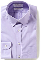 Roundtree & Yorke Gold Label Non-Iron Slim-Fit Point Collar Solid Dress Shirt