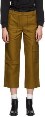 3.1 Phillip Lim Brown Slim Cargo Jeans