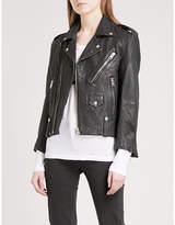 Zadig & Voltaire Liya Deluxe leather biker jacket