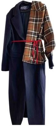 Jacquemus La Reconstruction Wool Coat for Women
