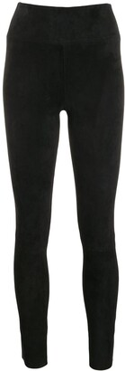 Sprwmn Plain Slim-Fit Leggings