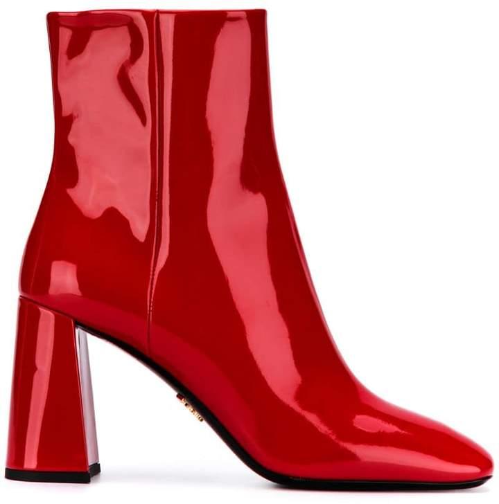 004c6e5a428c1 Red Patent Boots - ShopStyle