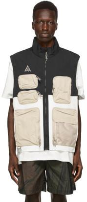Nike ACG Black and White NRG Vest