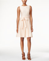 Tommy Hilfiger Bow Fit & Flare Dress