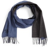 Canali Silk & Cashmere Reversible Scarf