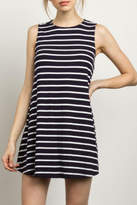Tcec Sleeveless Striped Dress