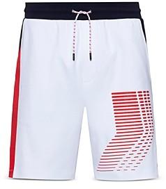 BOSS Hugo Liam Payne Color Blocked Drawstring Shorts