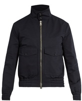 Ami Stand-collar Cotton-blend Jacket