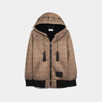 """Coach Signature Oversized """"Couch"""" Hoodie"""