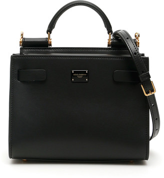 Dolce & Gabbana Sicily 62 Small Leather Bag