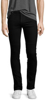Kenzo Basic Stretch-Denim Slim-Fit Biker Jeans, Black