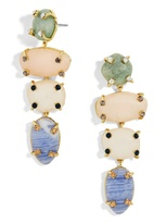 BaubleBar Devina Semi-Precious Drop Earrings