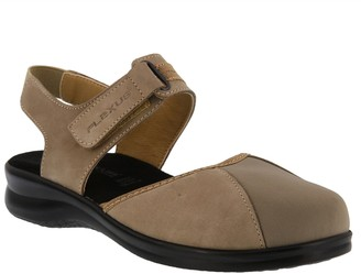 Spring Step Flexus by Leather Slingback Shoes -Nedra