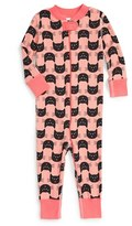 Hanna Andersson Halloween Organic Cotton Fitted One-Piece Pajamas (Baby Girls)