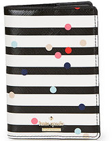 Kate Spade Cameron Street Striped Confetti Dot Passport Holder