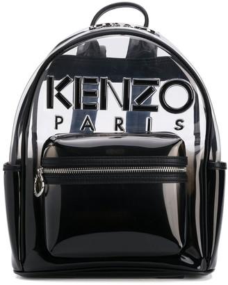 Kenzo Kombo transparent backpack