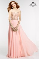 Alyce Paris - 6571 Prom Dress in Rosewater Gold