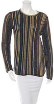 M Missoni Metallic Knit Sweater