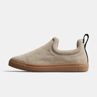 James Perse Zuma Suede Slip-On - Mens