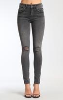 Mavi Jeans Alissa Super Skinny In Mid Grey Retro