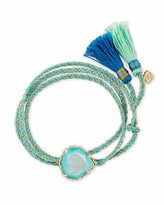 Kendra Scott Kenzie Gold Friendship Bracelet