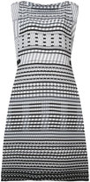 Issey Miyake tribal print sleeveless dress - women - Polyester - 2